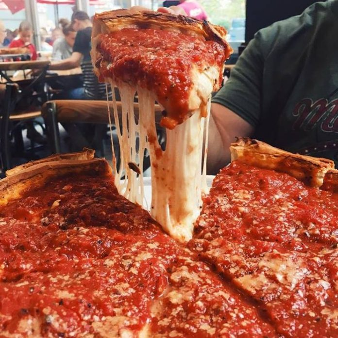 Ship Chicago's deep dish Giordano's pizza to your house
