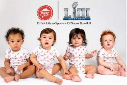 Free Pizza Hut for first baby born during Super Bowl